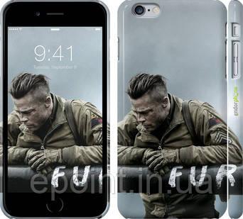 "Чехол на iPhone 6s Plus Ярость ""2578c-91"""