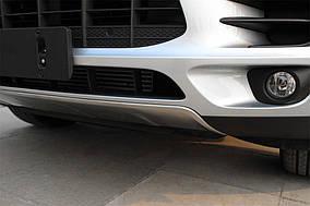 Porsche Macan 2014↗ рр. Передня і задня накладки (2 шт)