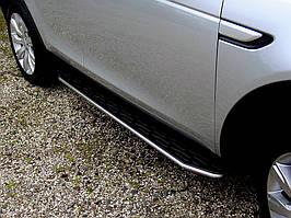 Land Rover Discovery Sport Бічні підніжки (2 шт., алюм.)