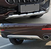 Maserati Levante Передня і задня накладки (2 шт)