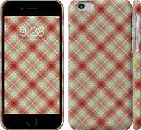 """Чехол на iPhone 6s Клетка v1 """"887c-90"""""""