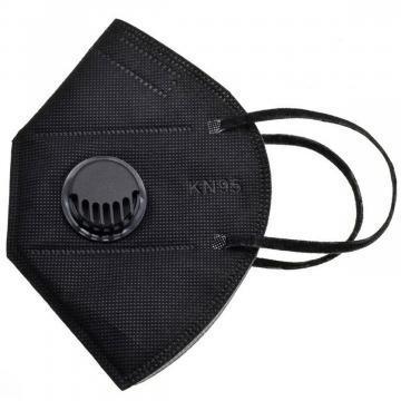 Респиратор KN95 PM2.5 B FFP2 6 слоев Черный
