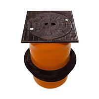 Телескопическая труба с крышкой и уплотнительной манжетой без вентиляции 315 (12,5т) Ostendorf