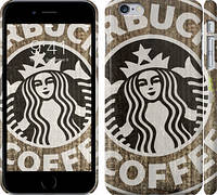 "Чехол на iPhone 6 Plus Starbucks v34 ""3093c-48"""