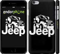"Чехол на iPhone 6s Plus Jeep v2 ""3166c-91"""