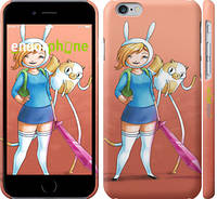 "Чехол на iPhone 6s Adventure Time. Fionna and Cake v2 ""2443c-90"""