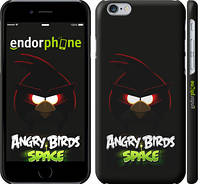 """Чехол на iPhone 6s Angry birds. Space on a black background """"538c-90"""""""