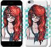 "Чехол на iPhone 6s Рыжеволосая девушка ""1009c-90"""