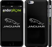 "Чехол на iPhone 6s Plus Jaguar. Logo v2 ""3164c-91"""