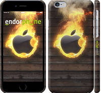 "Чехол на iPhone 6s Apple fire ""1292c-90"""