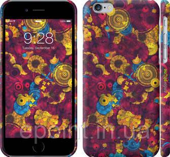 """Чехол на iPhone 6s Малиновый узор """"1192c-90"""""""