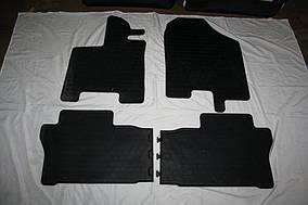 Honda Pilot 2015↗ рр. Гумові килимки (4 шт, Stingray Premium)