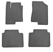 Hyundai Sonata LF 2014↗ рр. Гумові килимки (4 шт, Stingray Premium)