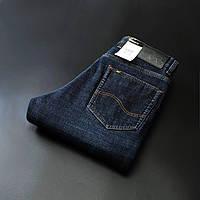 Зимние утепленные мужские джинсы LEE