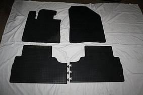 Kia Sorento UM 2015-2020 рр. Гумові килимки (4 шт, Stingray Premium)