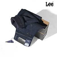 Зимние утепленные мужские джинсы LEE 40 размер