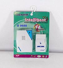 Беспроводной дверной звонок LUCKARM D9688 Белый (R0154)