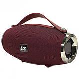 Bluetooth колонка LZ E16 mini Red (2951-8371a), фото 6