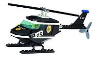"""Конструктор Qman 123 """"Полицейский вертолёт"""" 76 деталей"""