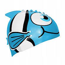 Шапочка для плавания детская SportVida OneSize Blue (SKL41-227799)