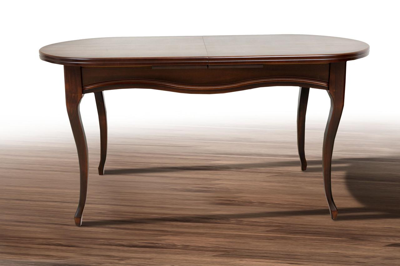 Стол обеденный Оливер орех темный (Микс-Мебель ТМ)