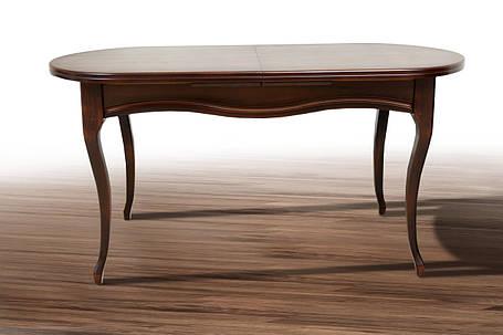 Стол обеденный Оливер орех темный (Микс-Мебель ТМ), фото 2