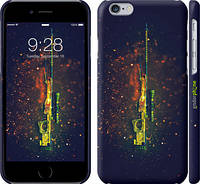 "Чехол на iPhone 6s Снайперская винтовка ""2817c-90"""