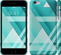 """Чехол на iPhone 6s Plus Тругольники """"2935c-91"""""""
