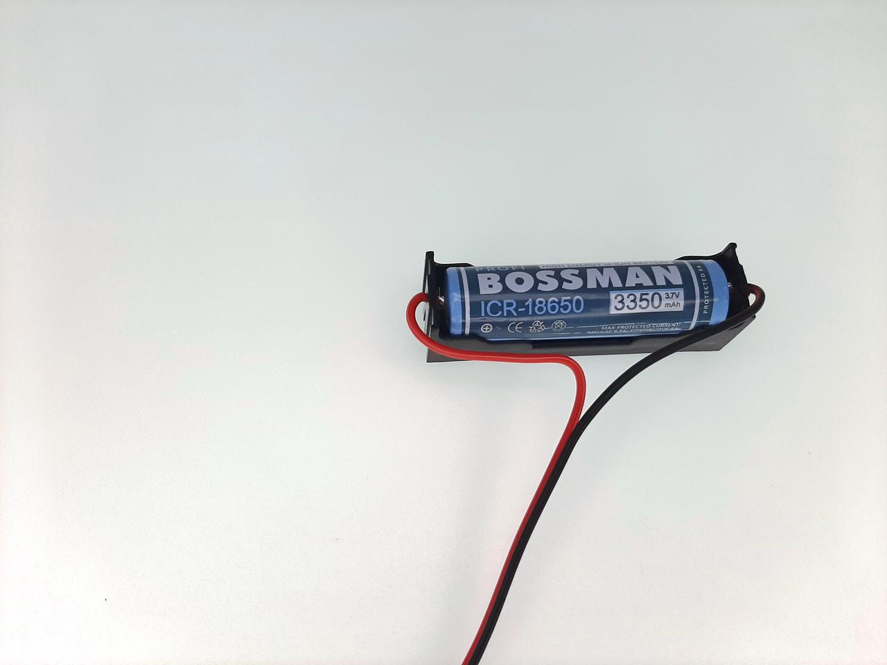 Аккумулятор Литиевый 18650 3350mA с защитой. Замена свинцово-кислотных аккумуляторов 4 вольта