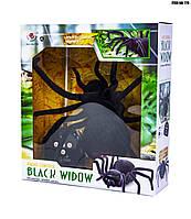 Паук Черная Вдова 779 30 см на радиоуправлении рядиоуправляемая игрушка-паук  умеет бегать во все стороны  по