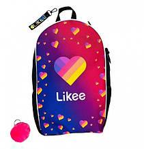 Шкільний Рюкзак CrazyBags з програми Лайки Likee (L232L)