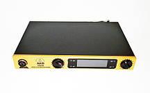 Караоке система AKG KM-388 база и 2 радиомикрофона беспроводная караоке радиосистема на 2 микрофона (sdOL-96)