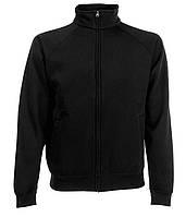 Толстовка Fruit of the Loom Classic sweat jacket S Черный (062230036S)