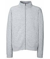 Толстовка Fruit of the Loom Classic sweat jacket S Светло-серый (062230094S)