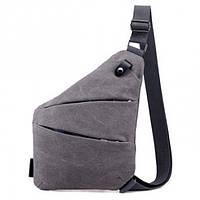 Мужская водонепроницаемая сумка Cross Body Grey (DM-133)
