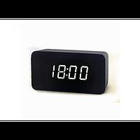 Электронные настольные часы VST 863-5 Black (DM-274)