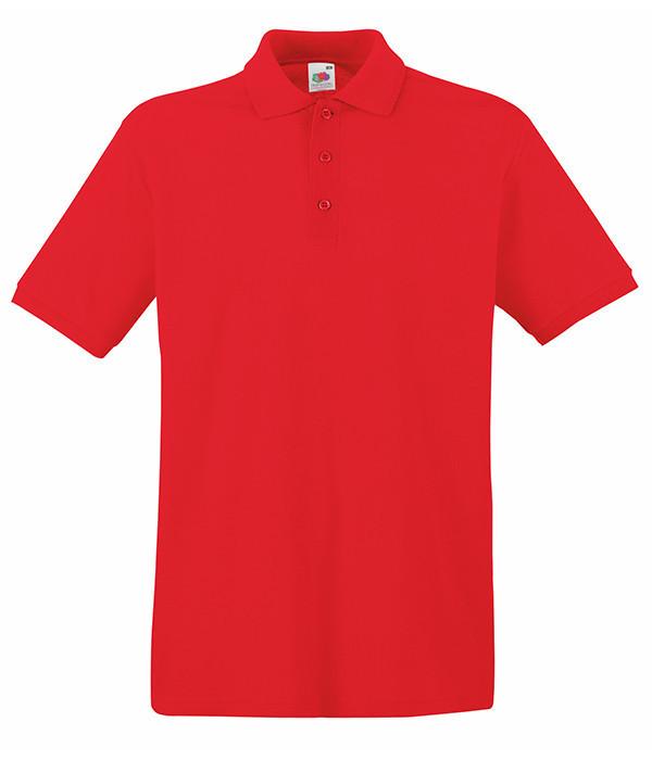 Поло Fruit of the Loom Premium 3XL Красный (0632180403XL)