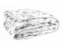 Одеяло Leleka-Textile Биопух премиум Двуспальный 172х205 см Белый с рисунком (1005443)