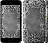 """Чехол на iPhone 6s Plus Узор на металле """"745c-91"""""""