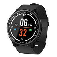 Розумні годинник Lemfo P69 з тонометром і пульсоксиметром Чорний