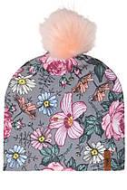 Демисезонная шапка для девочки Deux par Deux W20-003