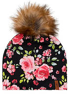 Демісезонна шапка для дівчинки Deux par Deux W20-005