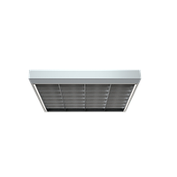 Накладной растровый светильник для офиса ЛПО 4x18W ARS/S