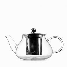 Чайник стеклянный заварочный с нержавеющим ситечком HLS 600 мл (6812), фото 2