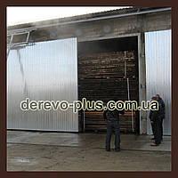 Камерна пропарка пиломатеріалів деревини (бука, ясеня, дуба, сосни)