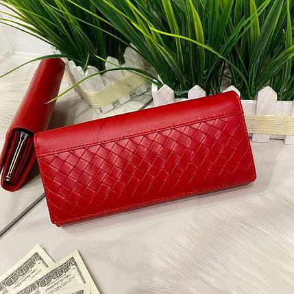 Женский кошелёк на магнитах Asti красный КАМ47, фото 2