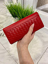 Женский кошелёк на магнитах Asti красный КАМ47, фото 3