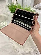 Жіночий гаманець на магнітах Asti пудровий КАМ49, фото 3