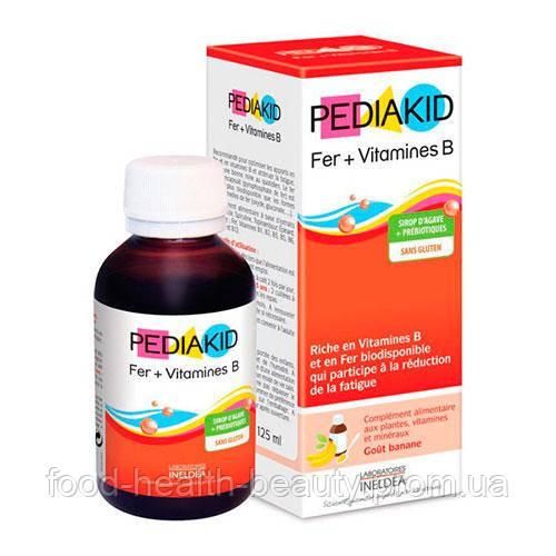 Сироп проти анемії і зняття втоми ТМ PEDIAKID, 125 мл