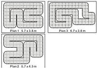 Трек 24 м2 Firelap LXX-2 для автомоделей 1:28